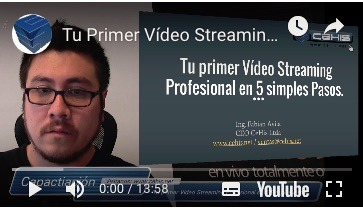 Tu Primer Video Streaming en 5 simples Pasos