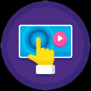 Reproducción Streaming Icono